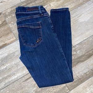 Express Jeans Skinny Denim Legging Mid Rise 8
